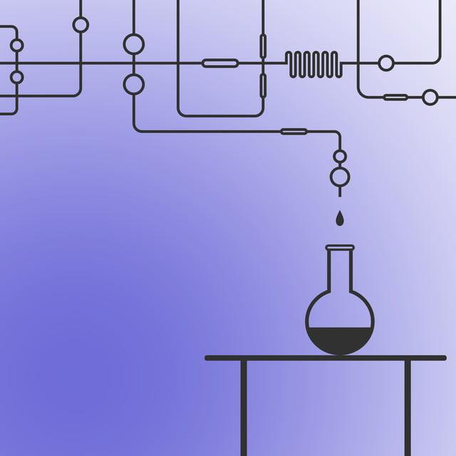 Kimia Laboratorium Peralatan Format Hitam Eksperimen Sains Imej
