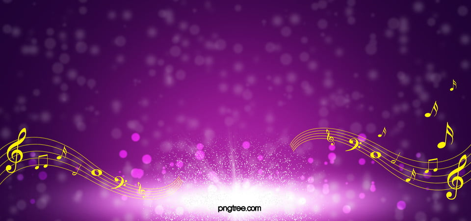 Music Background Images: Beautiful Purple Fantasy Background Music Posters, Purple