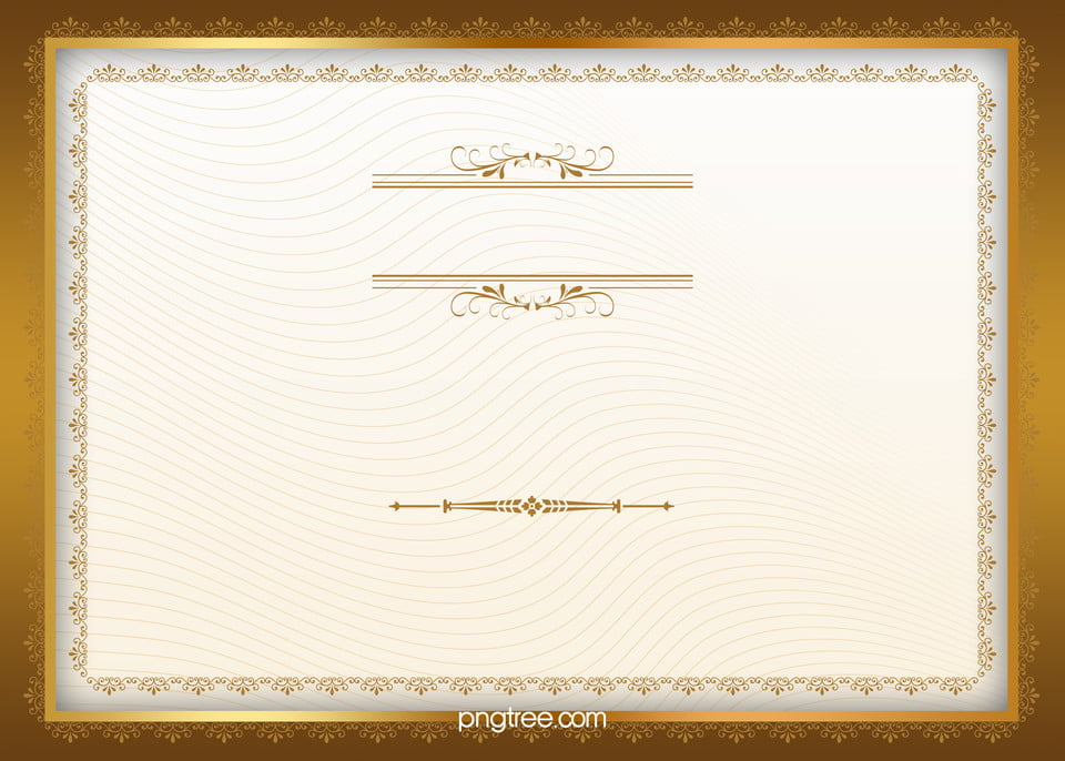 Gold Certificate Background Images - Reverse Search