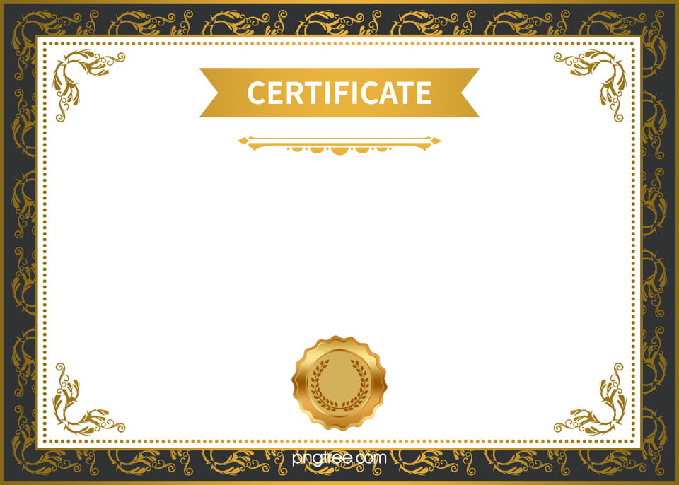 Certificate Background Design Certificate Templates Honor