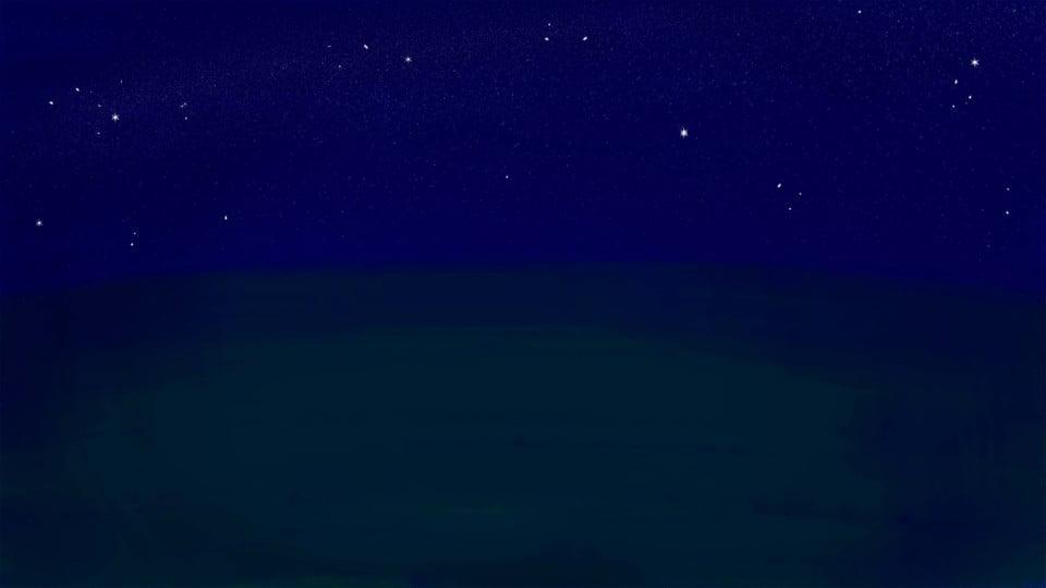 Il Cielo Di Notte Vicino Al Mare Sullo Sfondo Vicino Al Mare Di