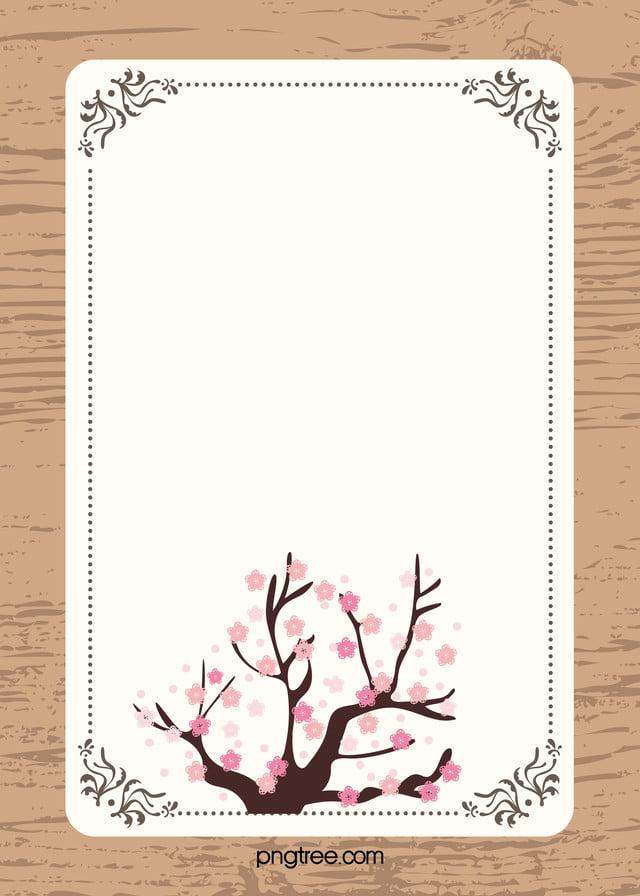 Fresh Pink Wedding Card Design Vector, Pink, Wood, Frame ...