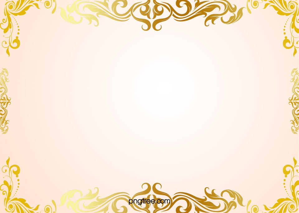 simple handpainted gold pattern border background material  hand painted  simple  golden birthday clip art borders free images april birthday clip art borders free