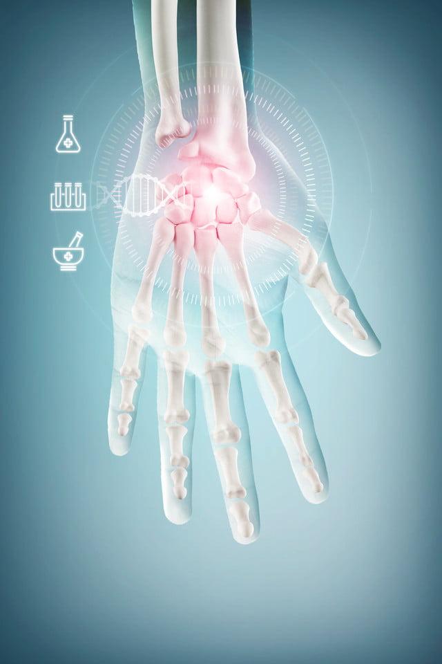 Medical technology health poster banner background ...