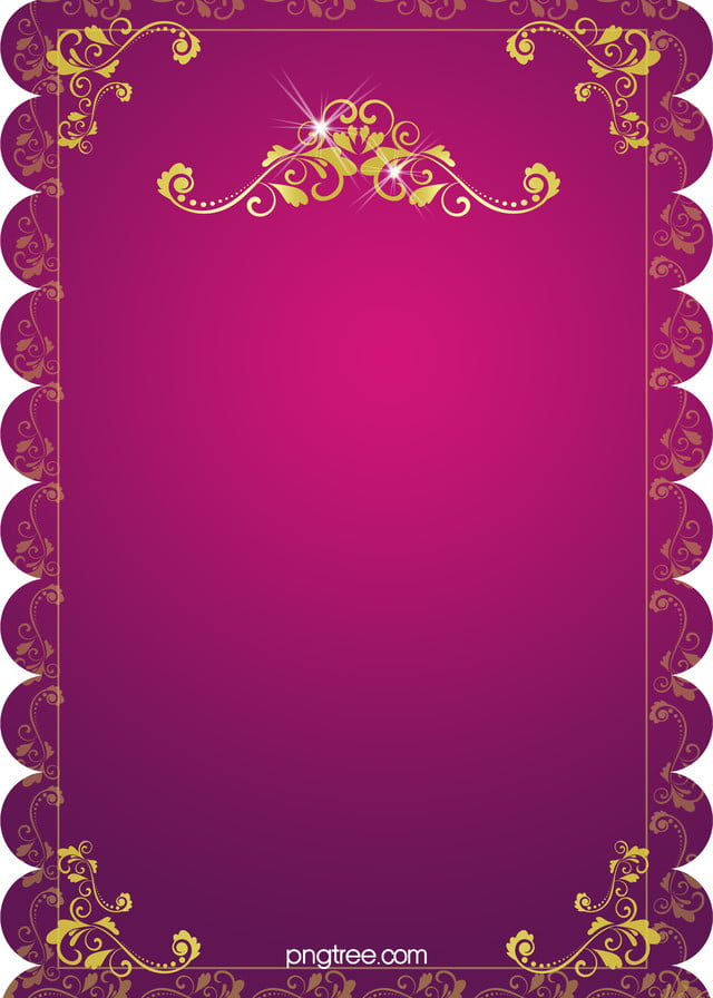 H5 Wedding Invitation Vector Background