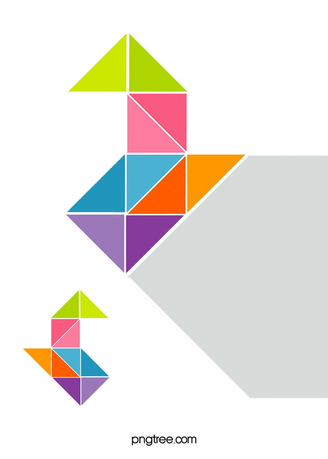 Drawing Lines With Triangle Combination : Creative combination of modern geometric background cover