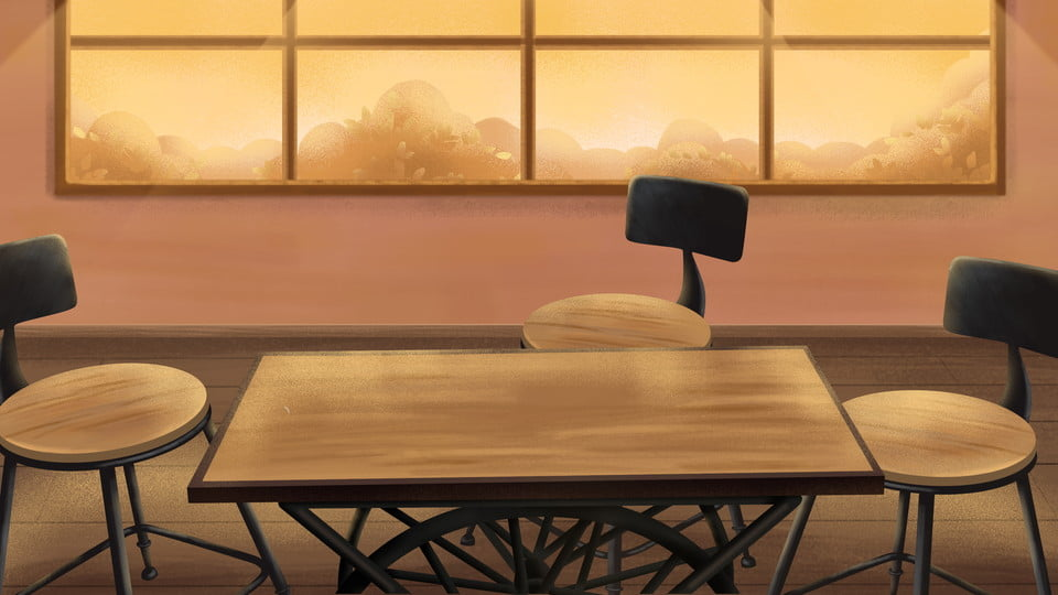 kitchen table and chairs household background warm home