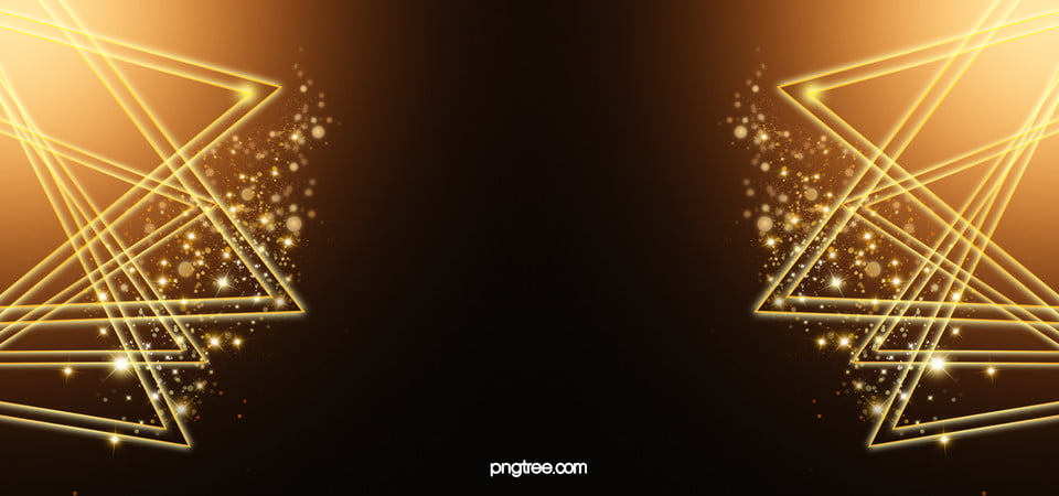 Gold Awards Ceremony On Black Background Poster Template, Golden ...