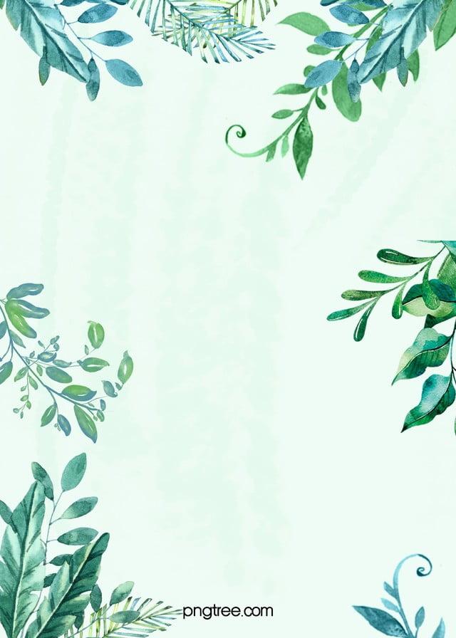 Die Kleinen frischen Pflanzen PSD geschichteten Werbung hintergrund ...