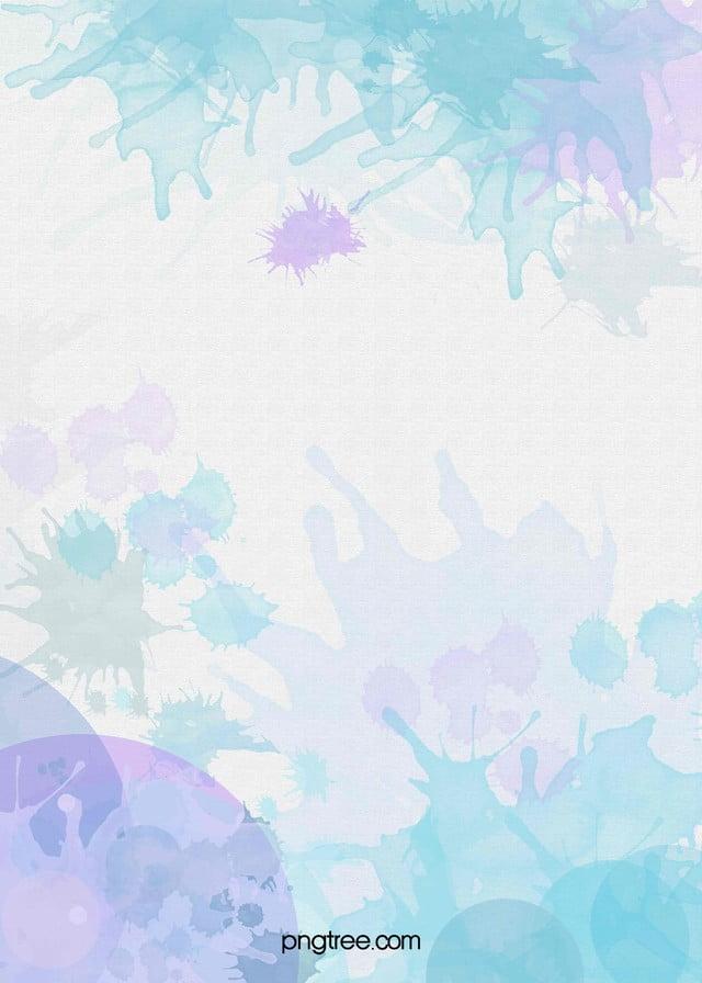藍色水彩漸變海報背景 水彩 漸變 彩色背景圖片免費下載