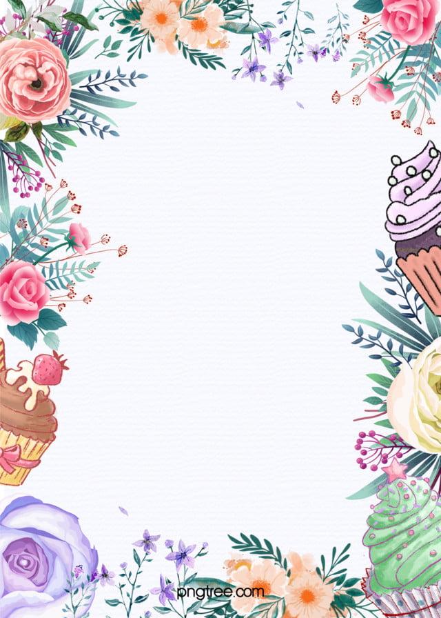 Delicioso pastel promoción plantilla de fondo, Cake Menu, Pastel De ...