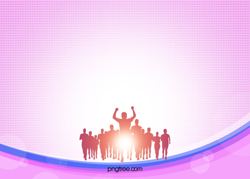 Psd Dazzle Purple Poster Background Autumn Sports Meeting