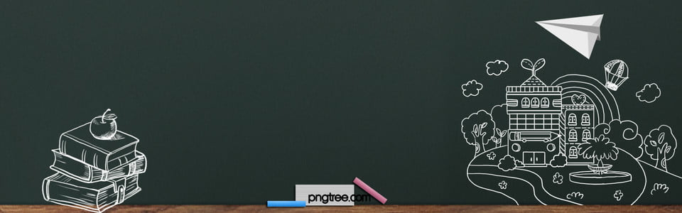 school hand painted blackboard green banner  school opens all free vector download png all free vector downloads