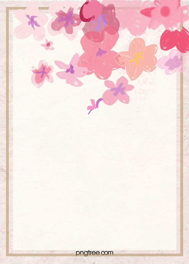 Light pink romantic handpainted flower background light pink light pink romantic hand painted flower background mightylinksfo