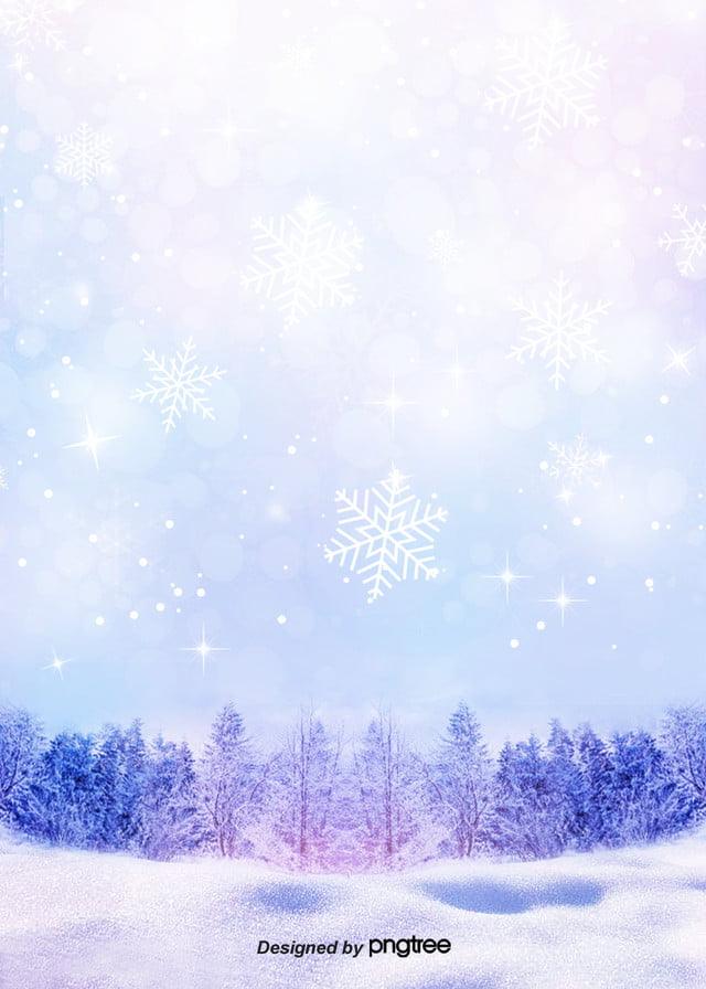 The Purple Dream Romantic Snow Wallpaper Romantic Snow