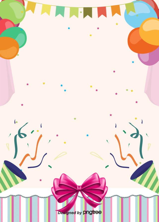 Happy Birthday Poster Suss Hintergrund