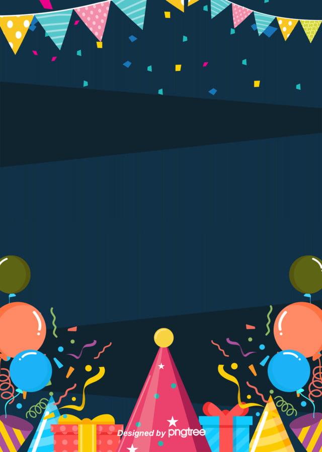 Buon compleanno di moda nel contesto del cartone adorabile poster