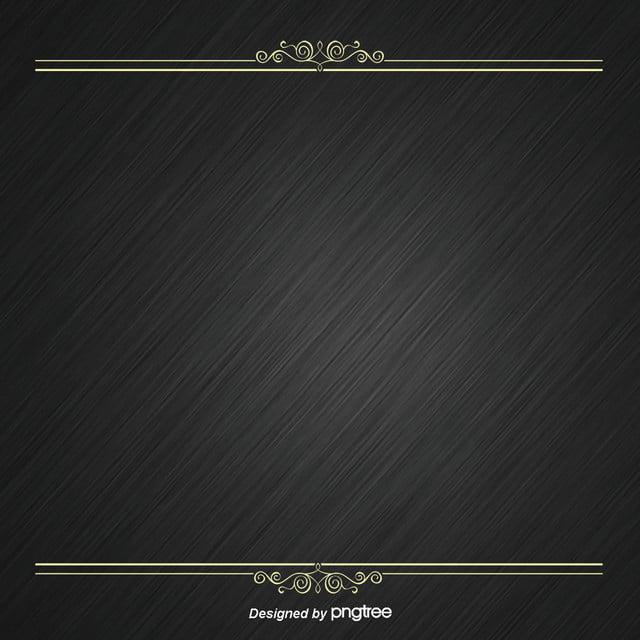 خلفية سوداء مع الحدود الذهبية الفاخرة ضوء خلفية خلفية التصميم