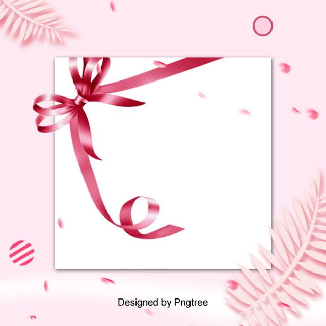 Il Giorno Di San Valentino Del Semplice Farfalla Rosa Sullo Sfondo