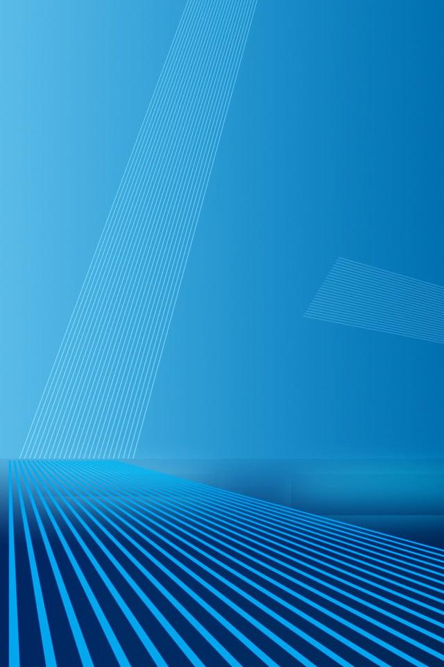 technological sense line blue background gradient