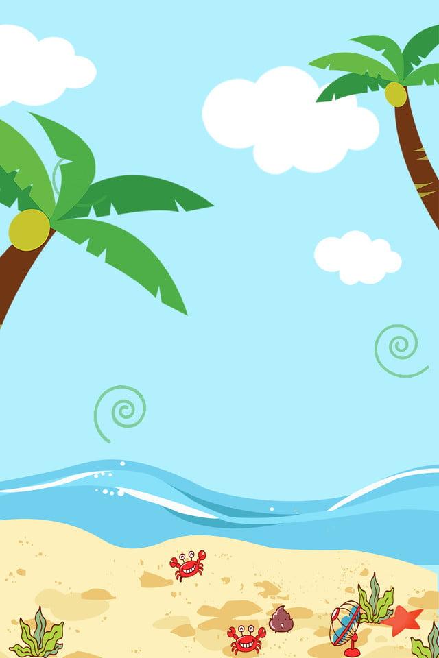 6700 Koleksi pemandangan pantai kartun Gratis Terbaru