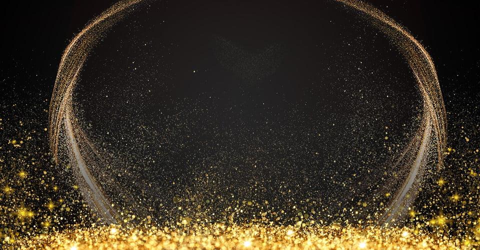 Black Gold Color Light Effect Spot Light Circle Light