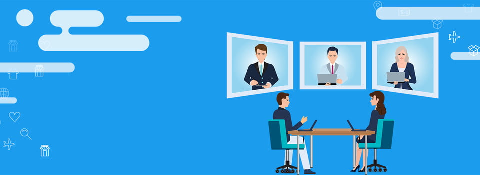 Business Business Enterprise Simple Office Video Conference