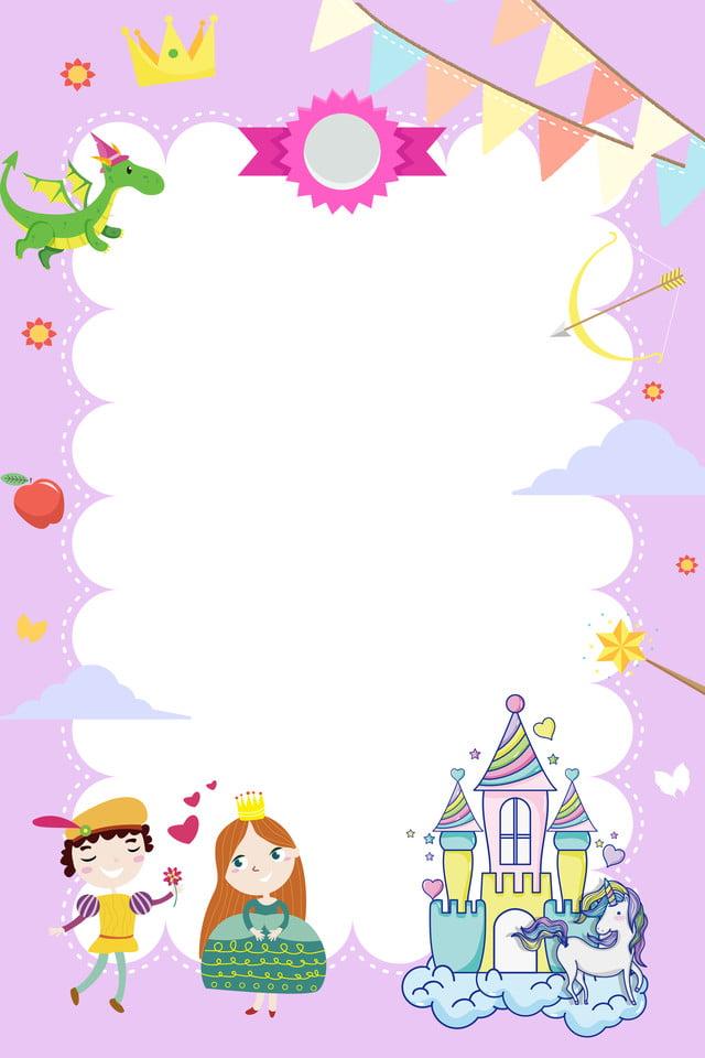 Cartoon Fée Prince Princesse H5 Fond Dessin Animé Couple