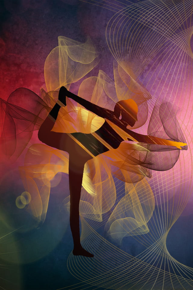 Fitness Motion Yoga Coordination Leisure Poster Banner Character Background Image For Free Download