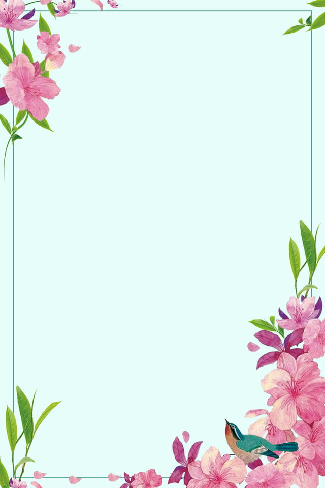 Simple Flower Border Designs For School Projects - Get ...