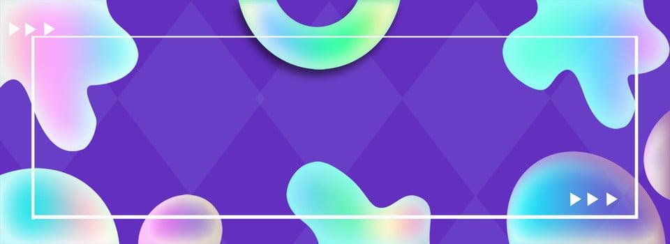 Banner Di Sfondo Geometrico Blu Geometria Banner Di Poster Blu