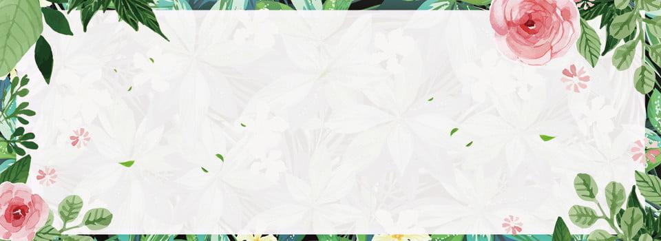 f1857bf0d Cartel floral fondo banner Literario Fresco Simple La flor Caja  Antecedentes Material Feliz Literario Fresco Simple