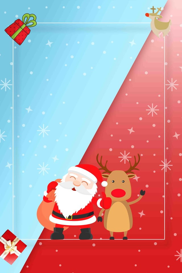 Cartaz De Feliz Natal Dos Desenhos Animados Feliz Natal Cartaz De