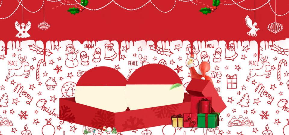 Frohe Weihnachten Anhänger.Frohe Weihnachten Nette Santa Claus Malereikarikaturfahne Frohe