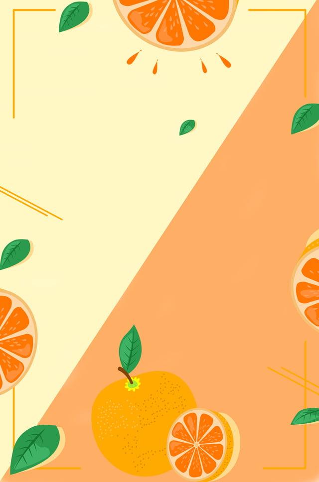 شريحة البرتقال فاكهة عصير برتقال م ورقة خلفية ورقة الشجر أوراق طازجة صورة الخلفية للتحميل مجانا