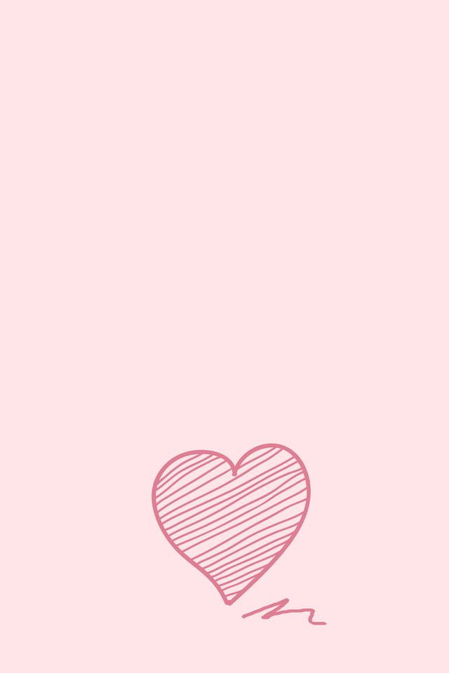 خلفية وردية من ناحية رسم الحب بسيط الحب صورة صريحة 520 يوم الاعتراف في أضيق الحدود الخلفية صورة الخلفية للتحميل مجانا