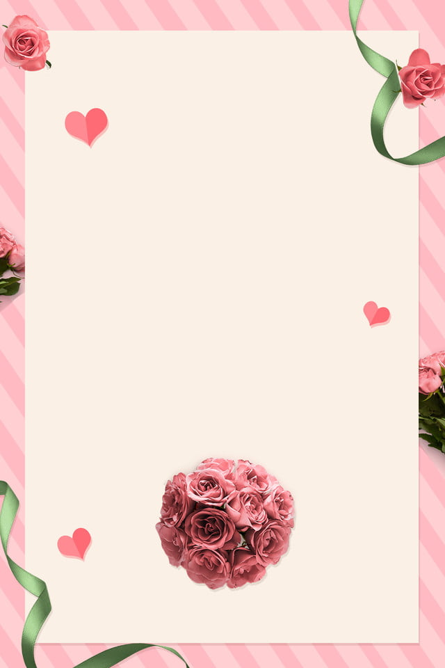 Pink Romantic Wedding Invitation Card Wedding Invitation Background Graphic Design Background Wedding Background Image For Free Download