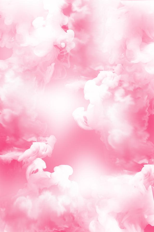 Asap Merah Muda Merender Stereoscopic, Awan, Merokok, Alam Mimpi Gambar  Latar Belakang Untuk Unduhan Gratis