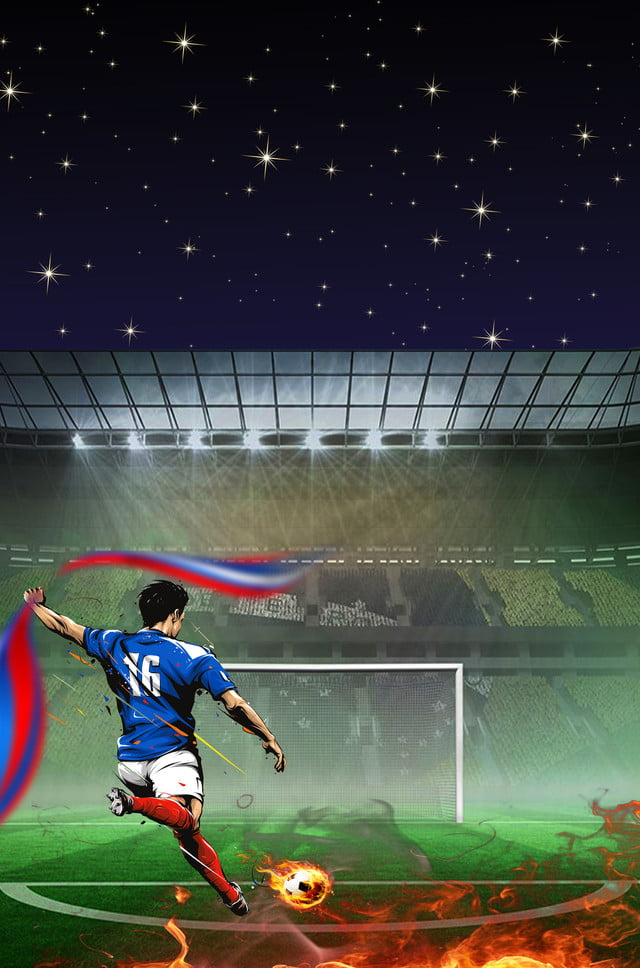 لعب كرة القدم العاطفة كأس العالم لهب حرق ملعب كرة القدم الخلفية الإعلان لعب كرة القدم حماس كأس العالم لهب إحراق صورة الخلفية للتحميل مجانا