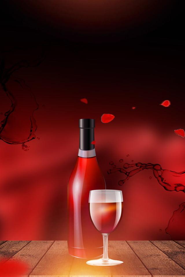 Sfondo Atmosfera Apprezzamento Del Vino Rosso Vino Rosso Apprezzare