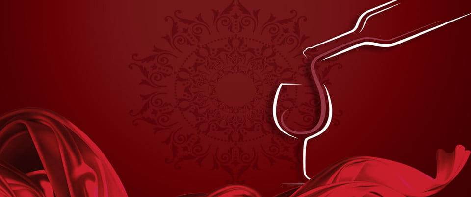 Red Wine Appreciation Line Red Wine Banner Red Wine Appreciation Background Image For Free Download