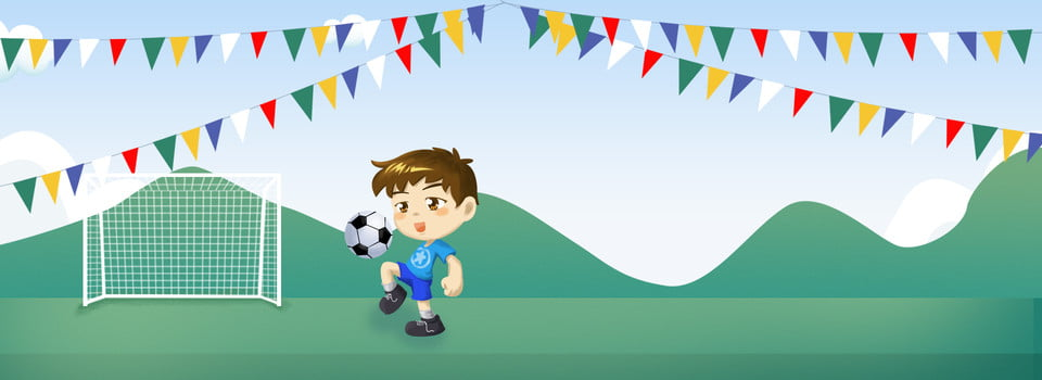Starting School School Playground Motion, Boy, Football