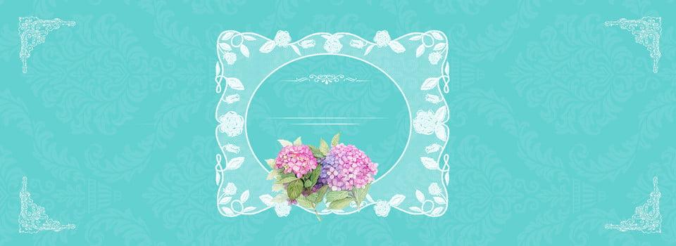 Ombreggiatura Di Pizzo Romantico Tiffany Blue Premium Blue