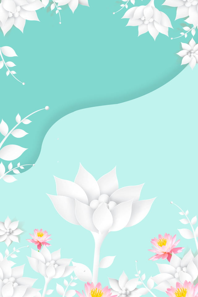 Latar Belakang Latar Belakang Origami Biru Putih Tiffany Tiffany
