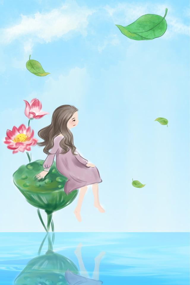 Rosée Blanche Vingt Quatre Termes Solaires Affiche De Dessin