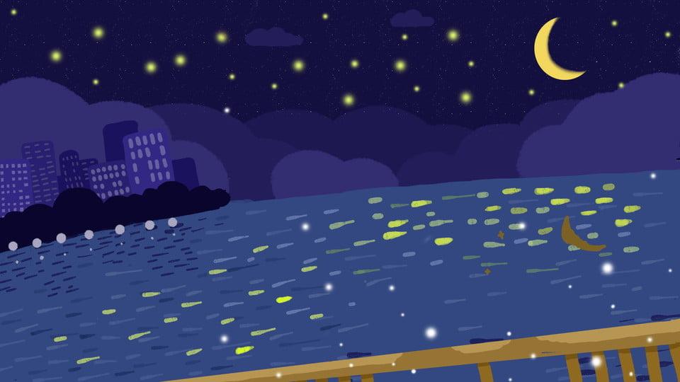 Belle Mer étoilée Documents De Base Bonne Nuit Ville La