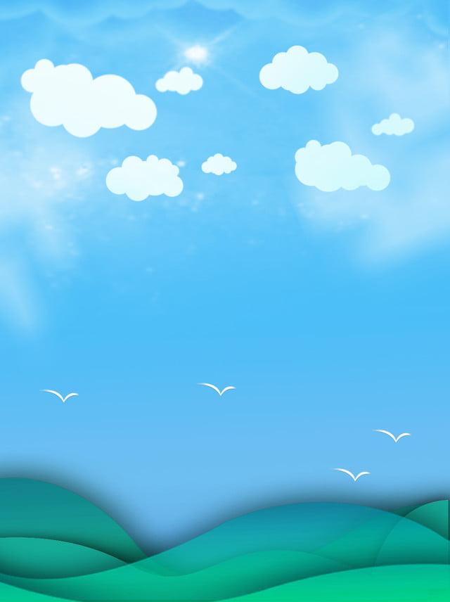 Ceu Azul E Nuvens Brancas Fundo Ceu Azul E Nuvens Brancas Fundo