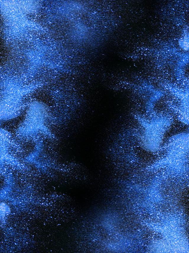 Sfondo Blu Notte Stellata Cielo Stellato Scena Notturna Blu Immagine