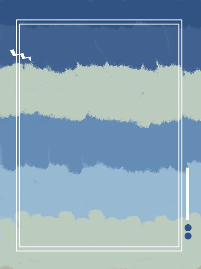 Blue Tones Gradient Abstract Sky White Clouds Background