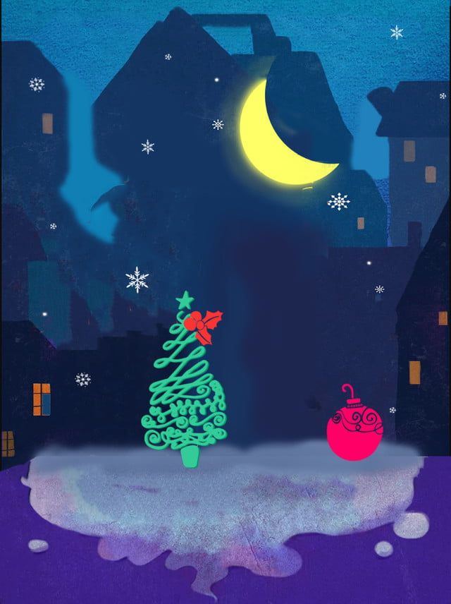 christmas aesthetic theme background christmas christmas tree moon background image for free download christmas aesthetic theme background christmas christmas tree moon background image for free download